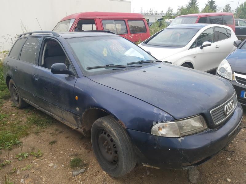 Подержанные Автозапчасти Audi A4 1997 1.9 машиностроение универсал 4/5 d. синий 2020-7-21