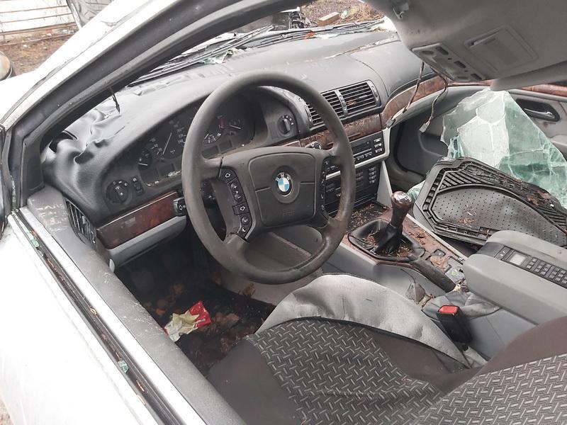 Naudotos automobilio dalys BMW 5-SERIES 1997 2.0 Mechaninė Sedanas 4/5 d. Sidabrine 2020-1-10
