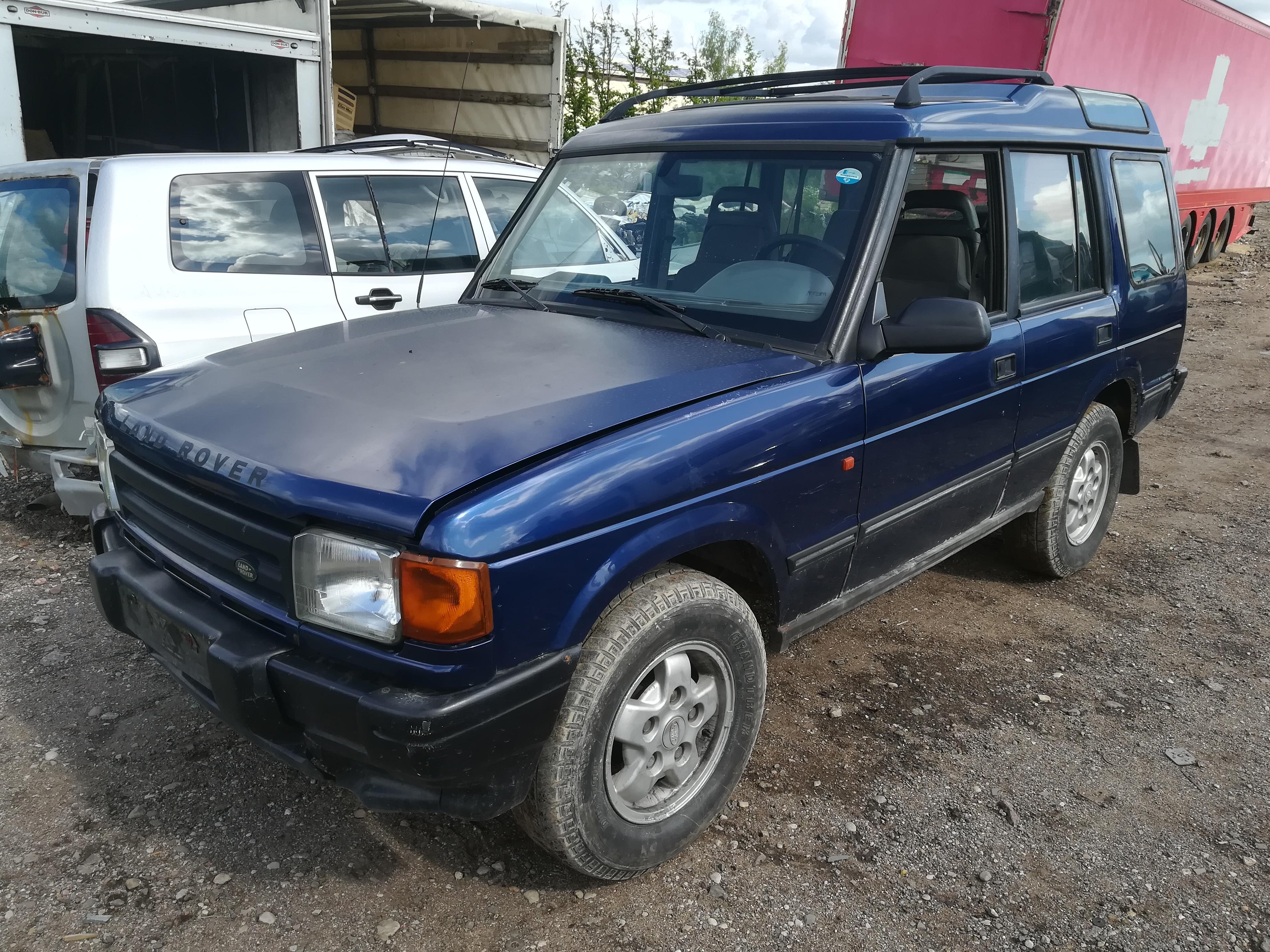 Naudotos automobiliu dallys Foto 4 Land-Rover DISCOVERY 1995 2.5 Mechaninė Visureigis 4/5 d. Melyna 2019-7-12 A4622