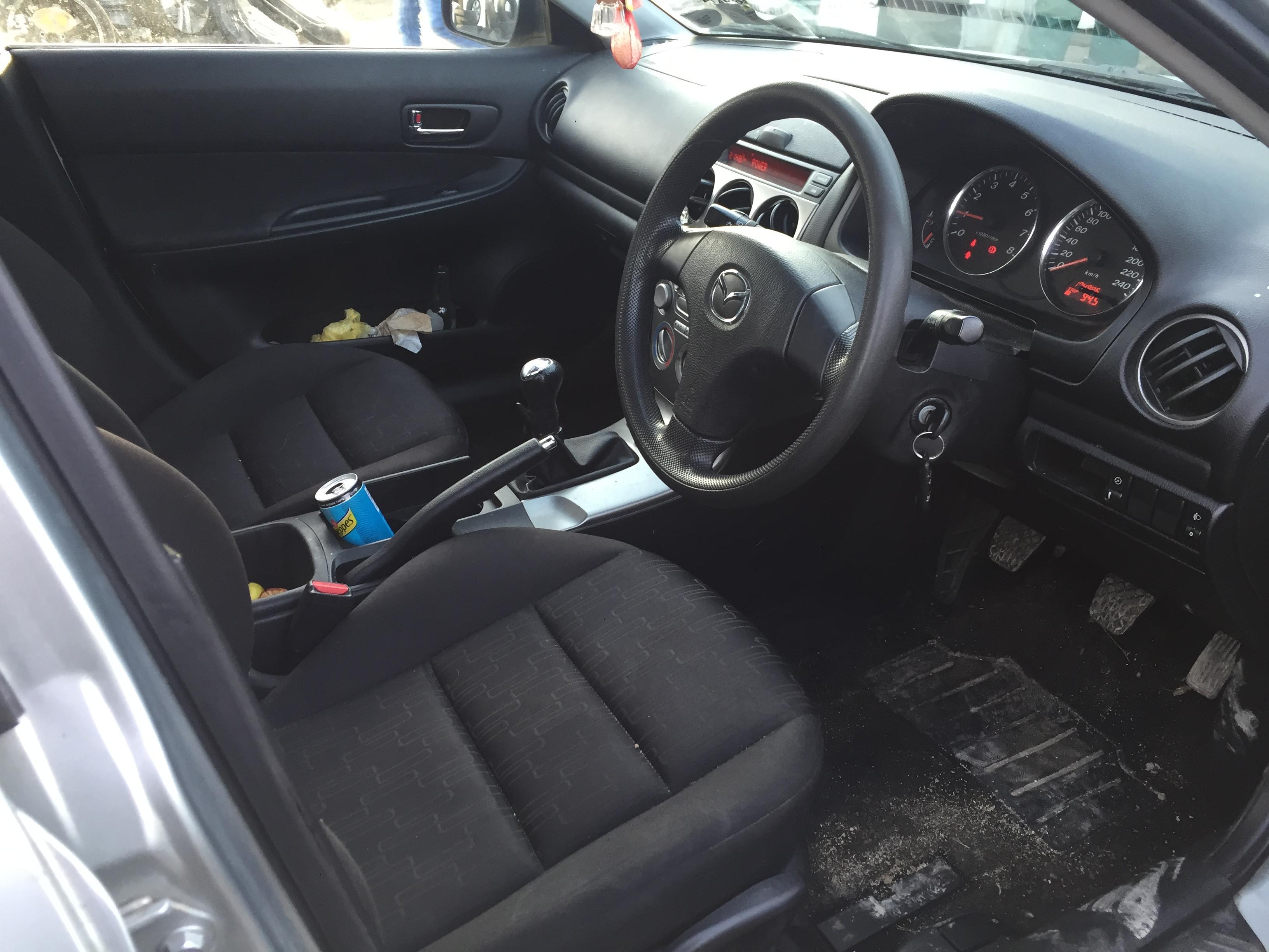 Naudotos automobiliu dallys Foto 5 Mazda 6 2003 1.8 Mechaninė Sedanas 4/5 d. Zydra 2017-11-28 A3538