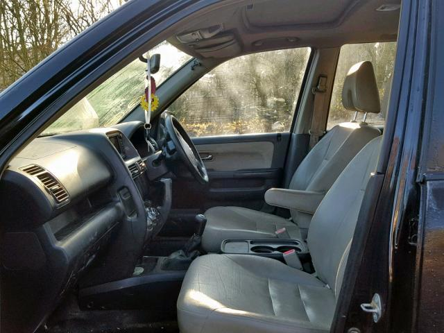 Подержанные Автозапчасти Foto 7 Honda CR-V 2005 2.2 машиностроение напрямик 4/5 d. черный 2019-2-07 A4309