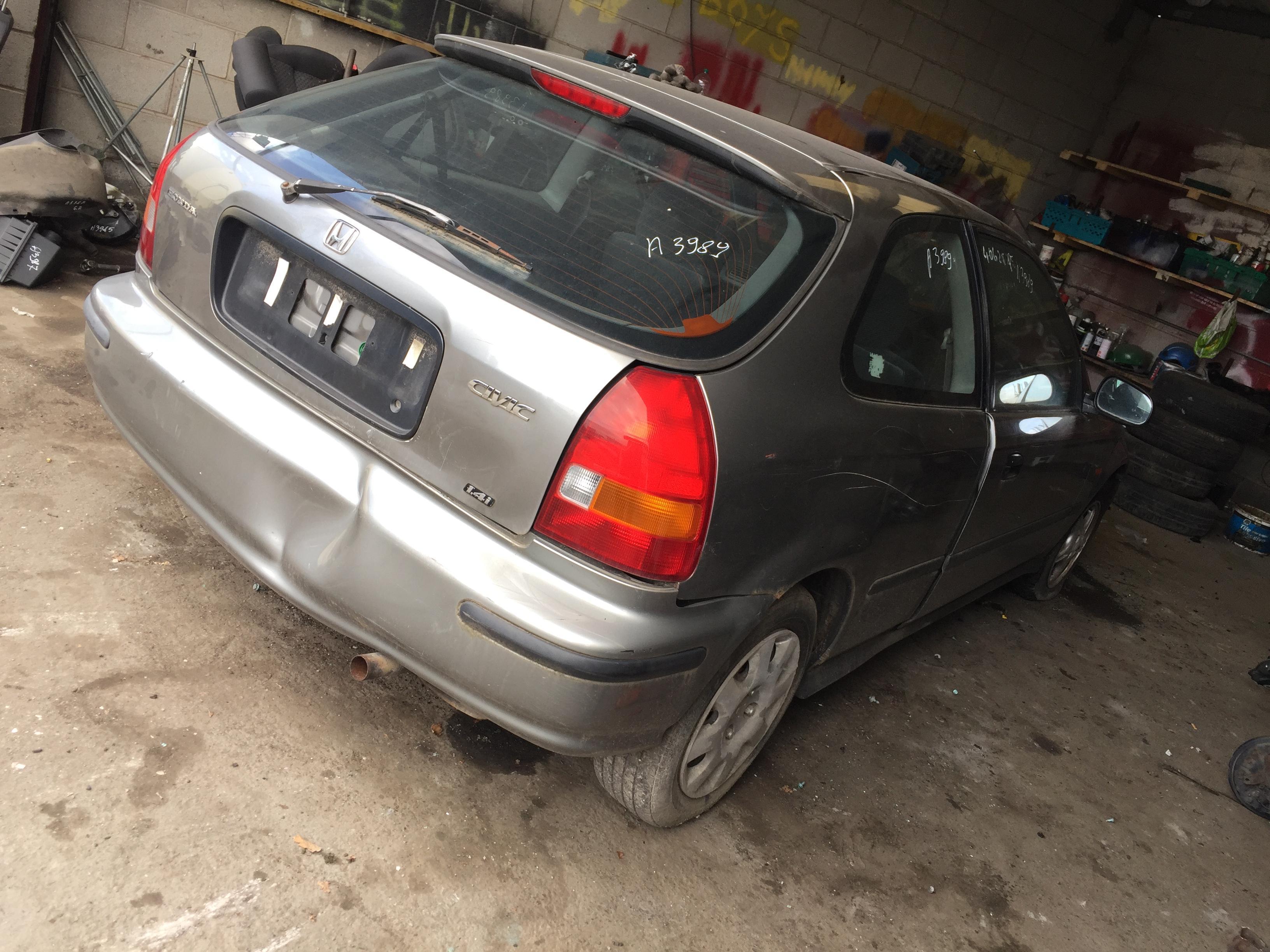 Naudotos automobilio dalys Honda CIVIC 1998 1.4 Mechaninė Hečbekas 2/3 d. Pilka 2018-8-01