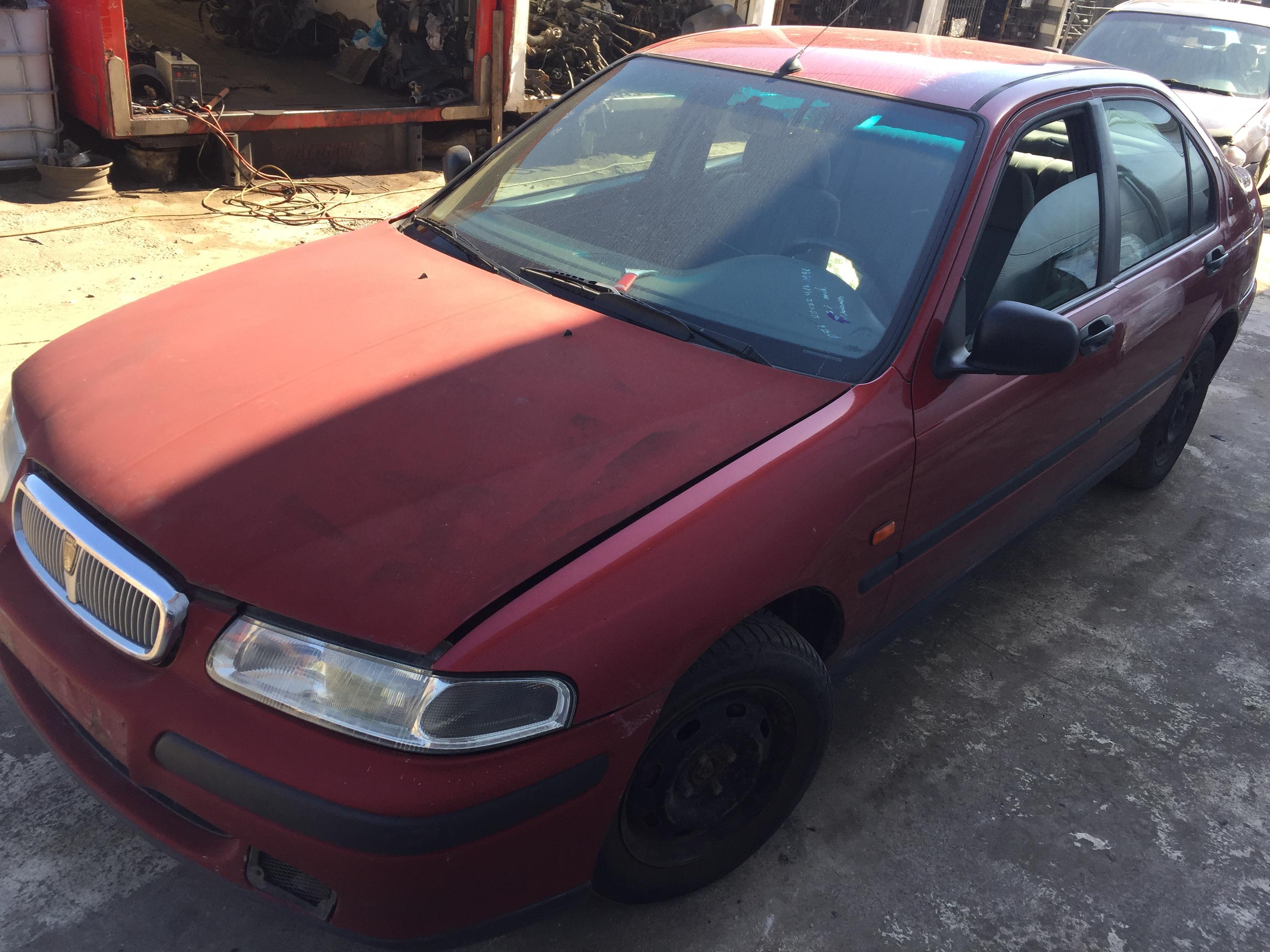 Naudotos automobilio dalys Rover 400-SERIES 1998 1.6 Mechaninė Sedanas 4/5 d. Raudona 2017-8-17