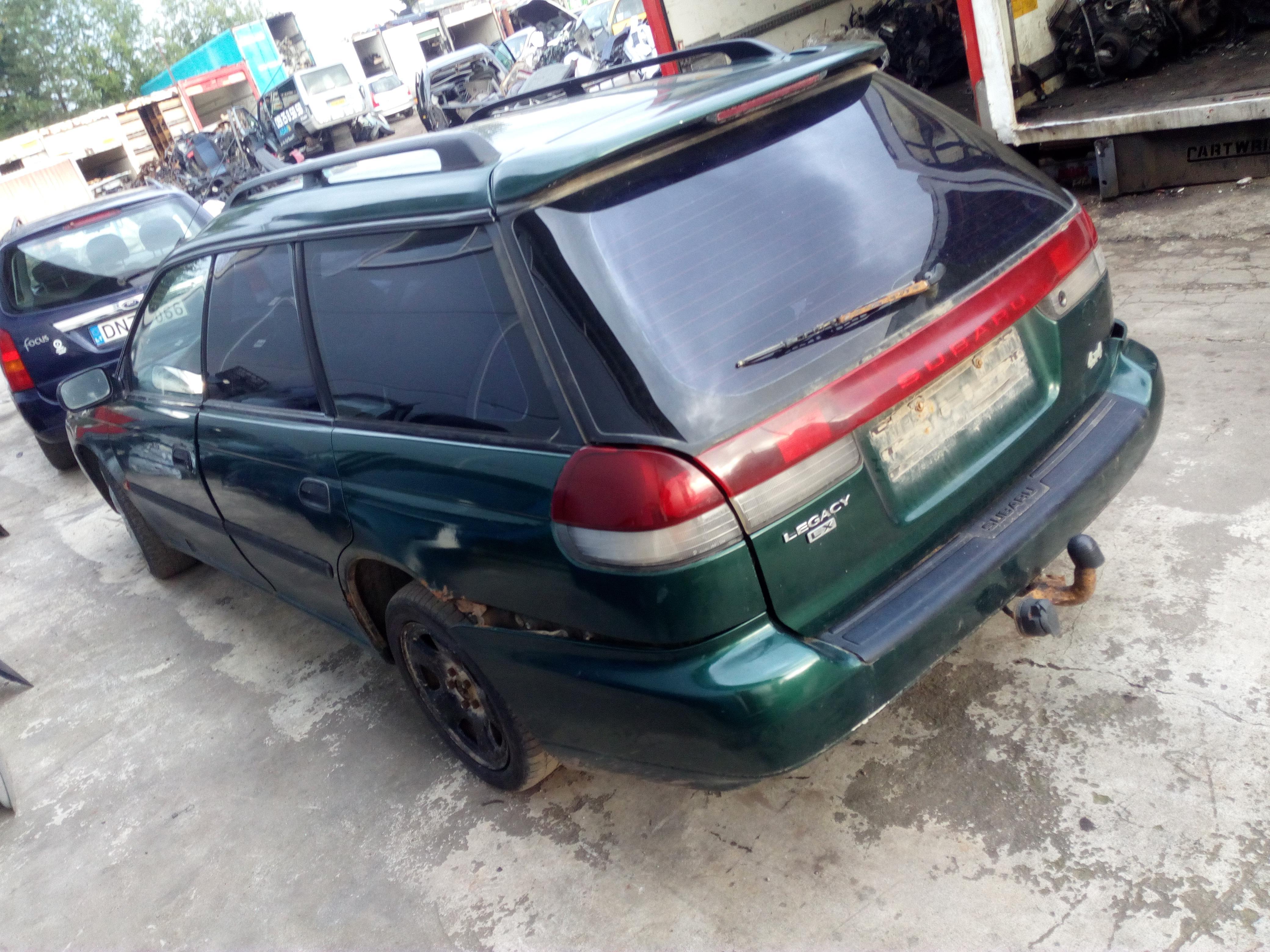 Подержанные Автозапчасти Foto 5 Subaru LEGACY 1995 2.0 машиностроение универсал 4/5 d. зеленый 2017-9-15 A3453