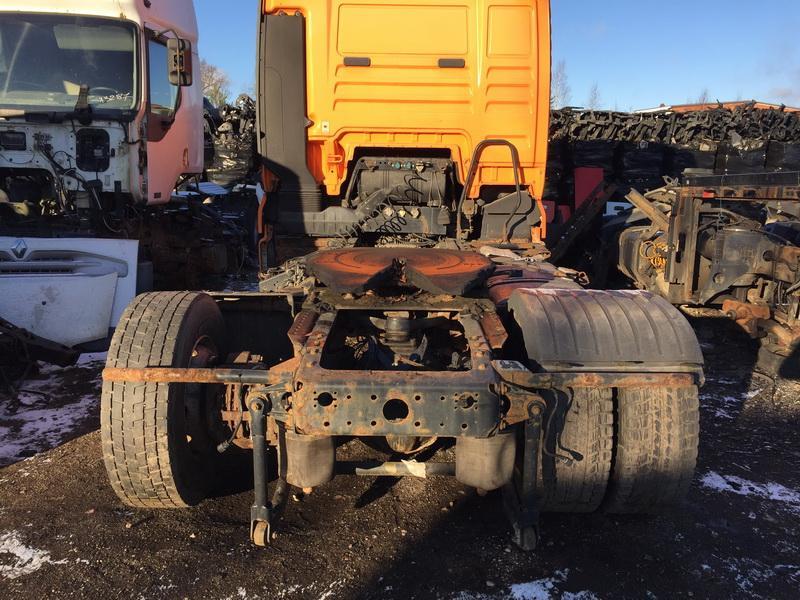 Naudotos automobiliu dallys Foto 8 Truck - MAN TGA 2002 12.0 Mechaninė Vilkikas 2/3 d. Oranzine 2018-11-27 A4212
