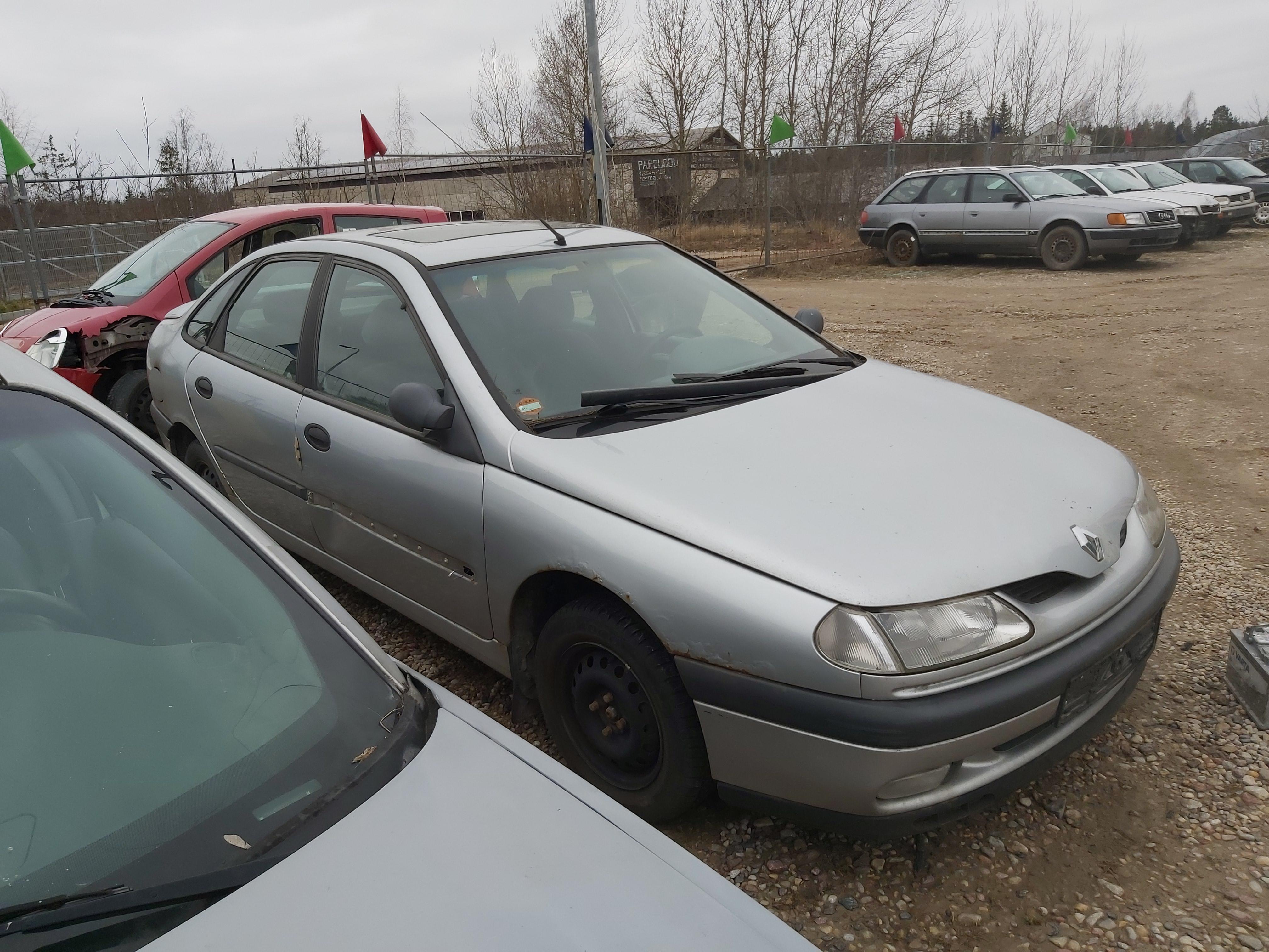 Naudotos automobilio dalys Renault LAGUNA 1995 1.8 Mechaninė Hečbekas 4/5 d. Sidabrine 2020-3-18