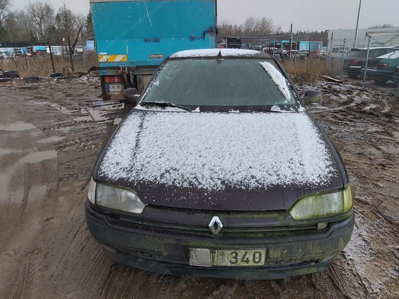 Naudotos automobilio dalys Renault SAFRANE 1993 3.0 Mechaninė Sedanas 4/5 d. Violetine 2020-1-21