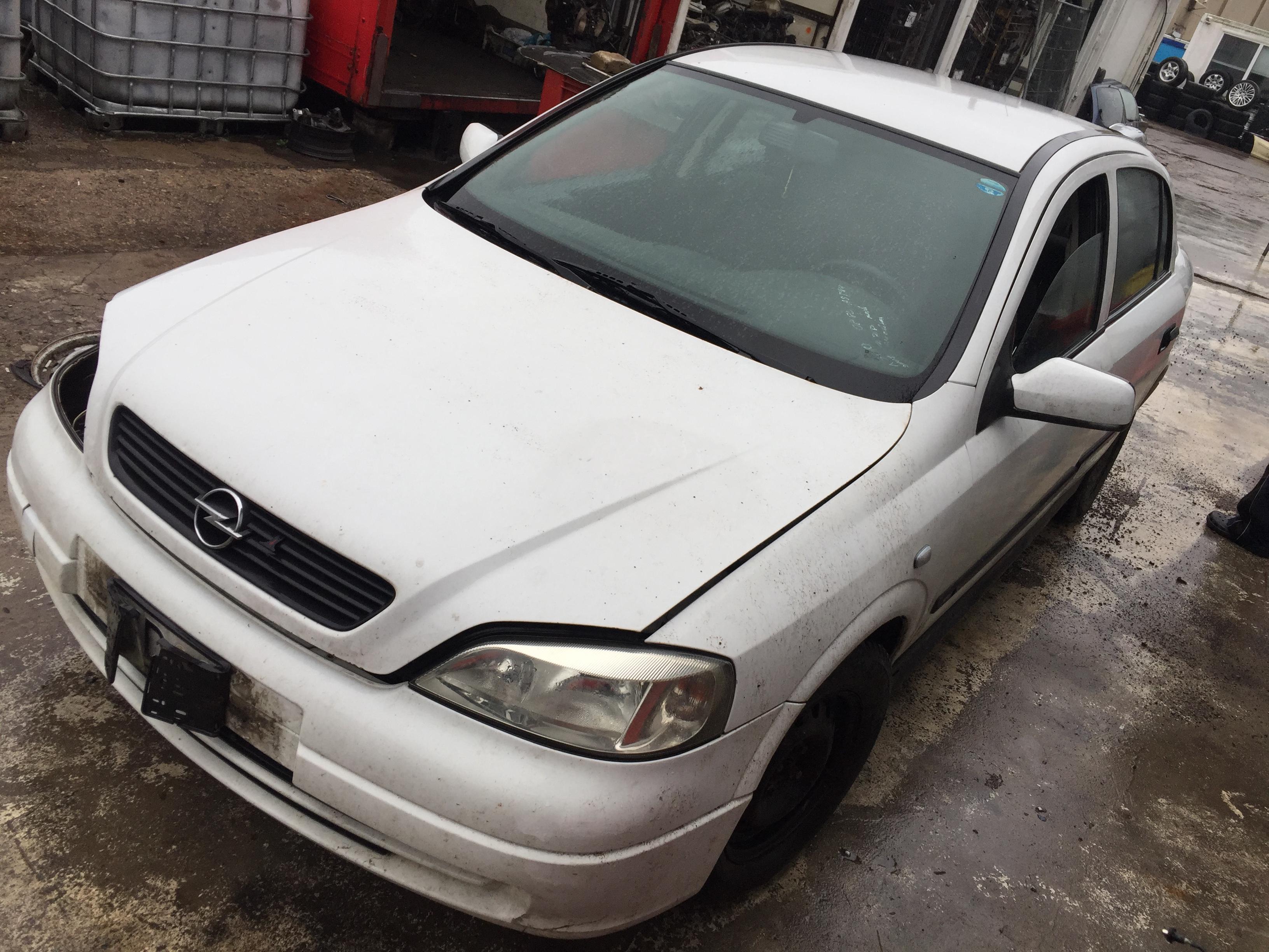 Opel ASTRA 2002 1.7 Mechaninė