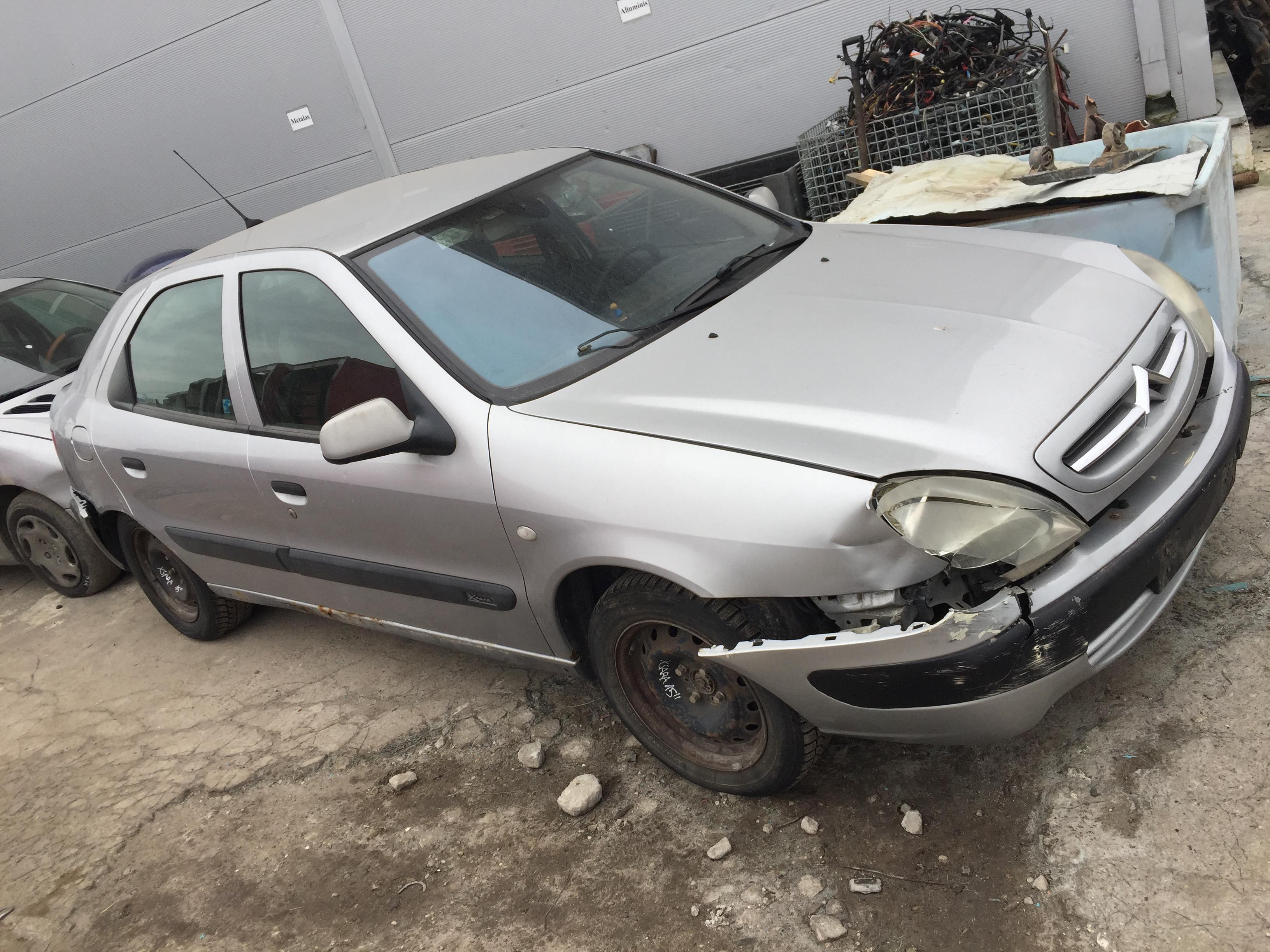 Naudotos automobilio dalys Citroen XSARA 2000 1.6 Mechaninė Hečbekas 4/5 d. Sidabrine 2017-10-25