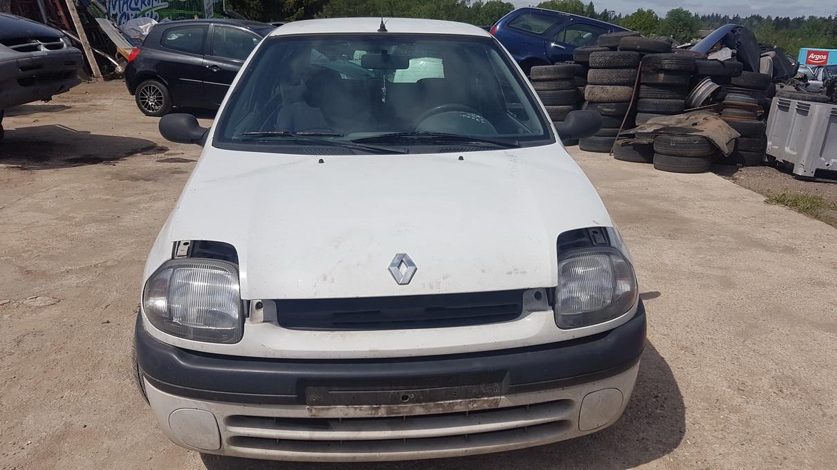 Naudotos automobilio dalys Renault CLIO 2000 1.9 Mechaninė Hečbekas 2/3 d. Balta 2017-5-30