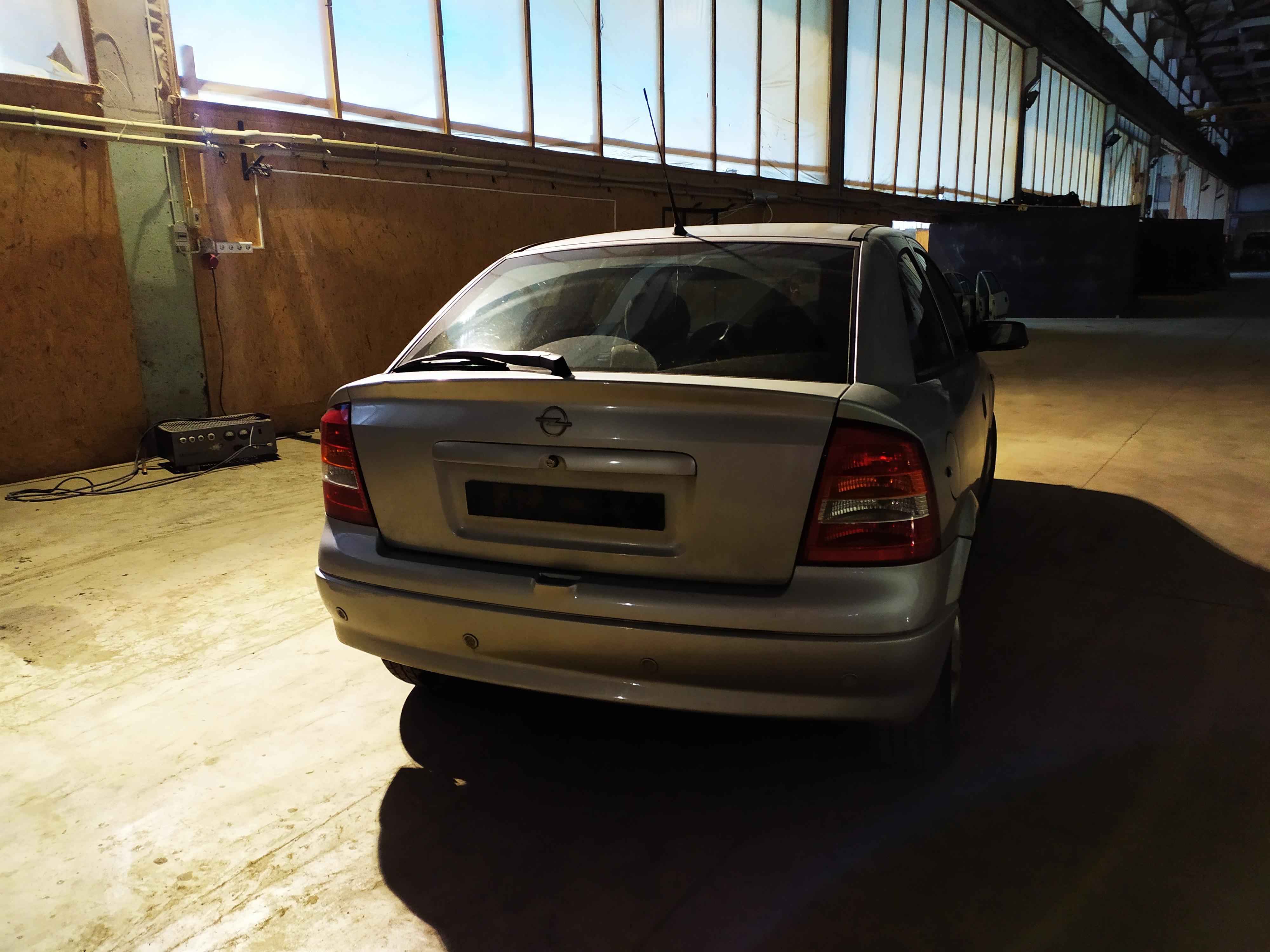 Naudotos automobilio dalys Opel ASTRA 1998 1.6 Mechaninė Hečbekas 2/3 d. Pilka 2020-10-12