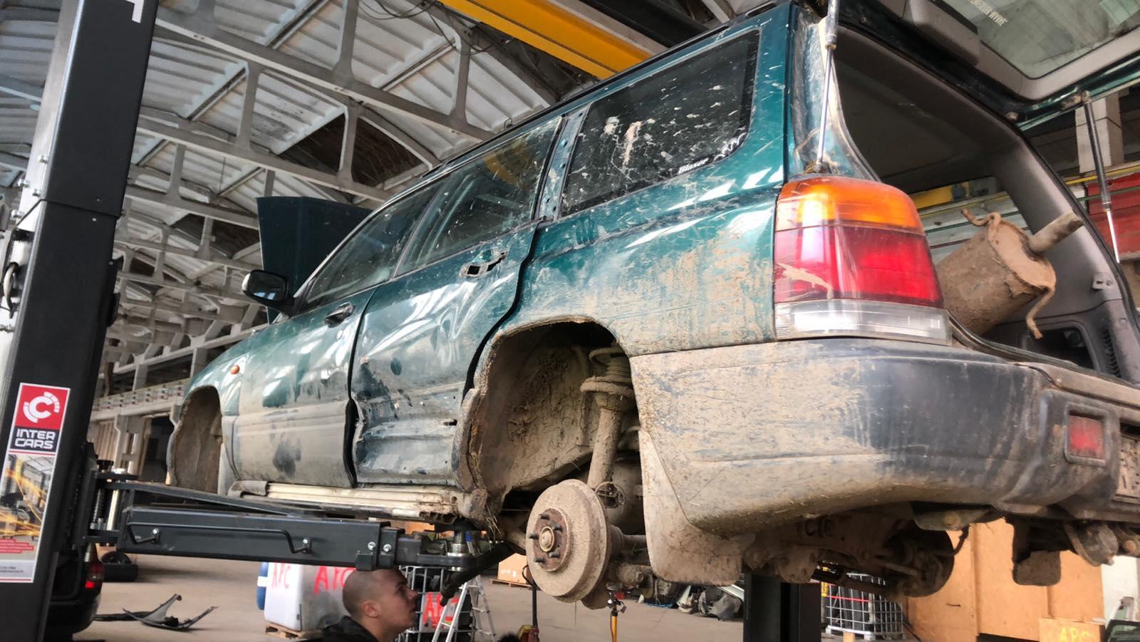 Naudotos automobilio dalys Subaru FORESTER 1999 2.0 Mechaninė Visureigis 4/5 d. Zalia 2020-7-13