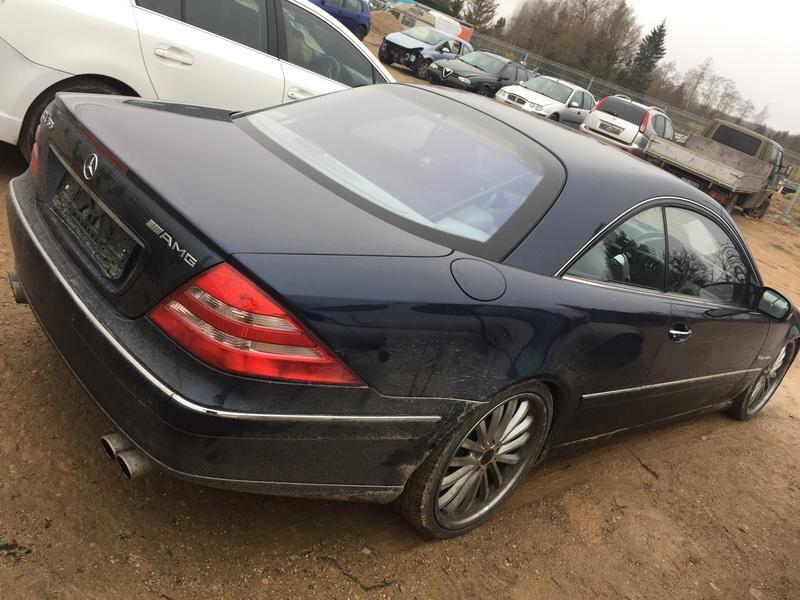 Подержанные Автозапчасти Foto 9 Mercedes-Benz CL-CLASS 2000 5.0 автоматическая Купе 2/3 d. синий 2018-11-07 A4175