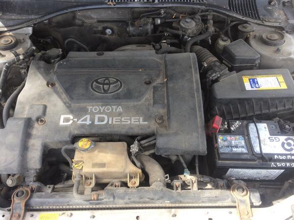 Подержанные Автозапчасти Foto 8 Toyota AVENSIS 2001 2.0 машиностроение универсал 4/5 d. серебро 2018-6-13 A3865