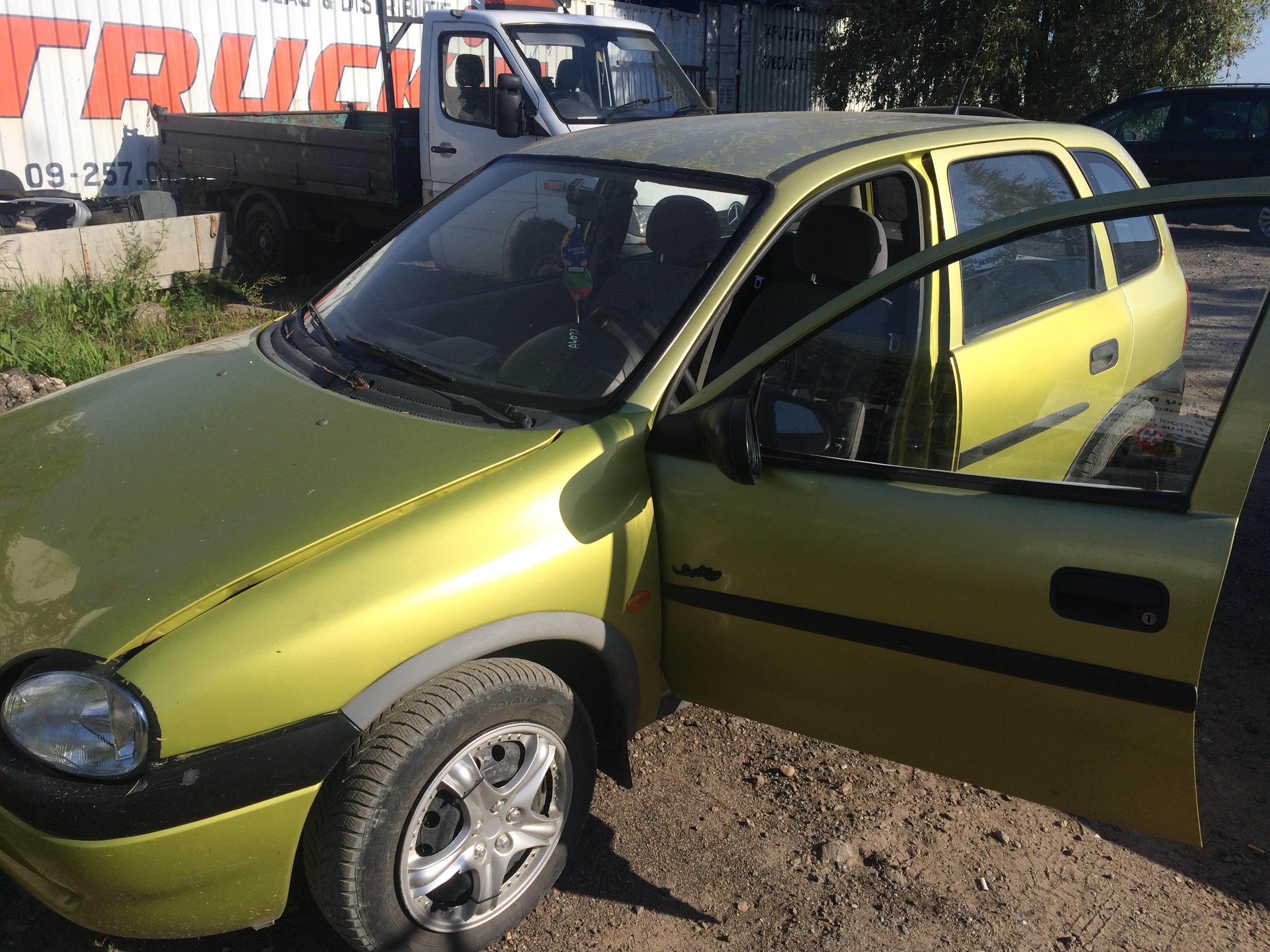 Naudotos automobiliu dallys Foto 3 Opel CORSA 1997 1.7 Mechaninė Hečbekas 4/5 d. Geltona 2018-8-10 A4028