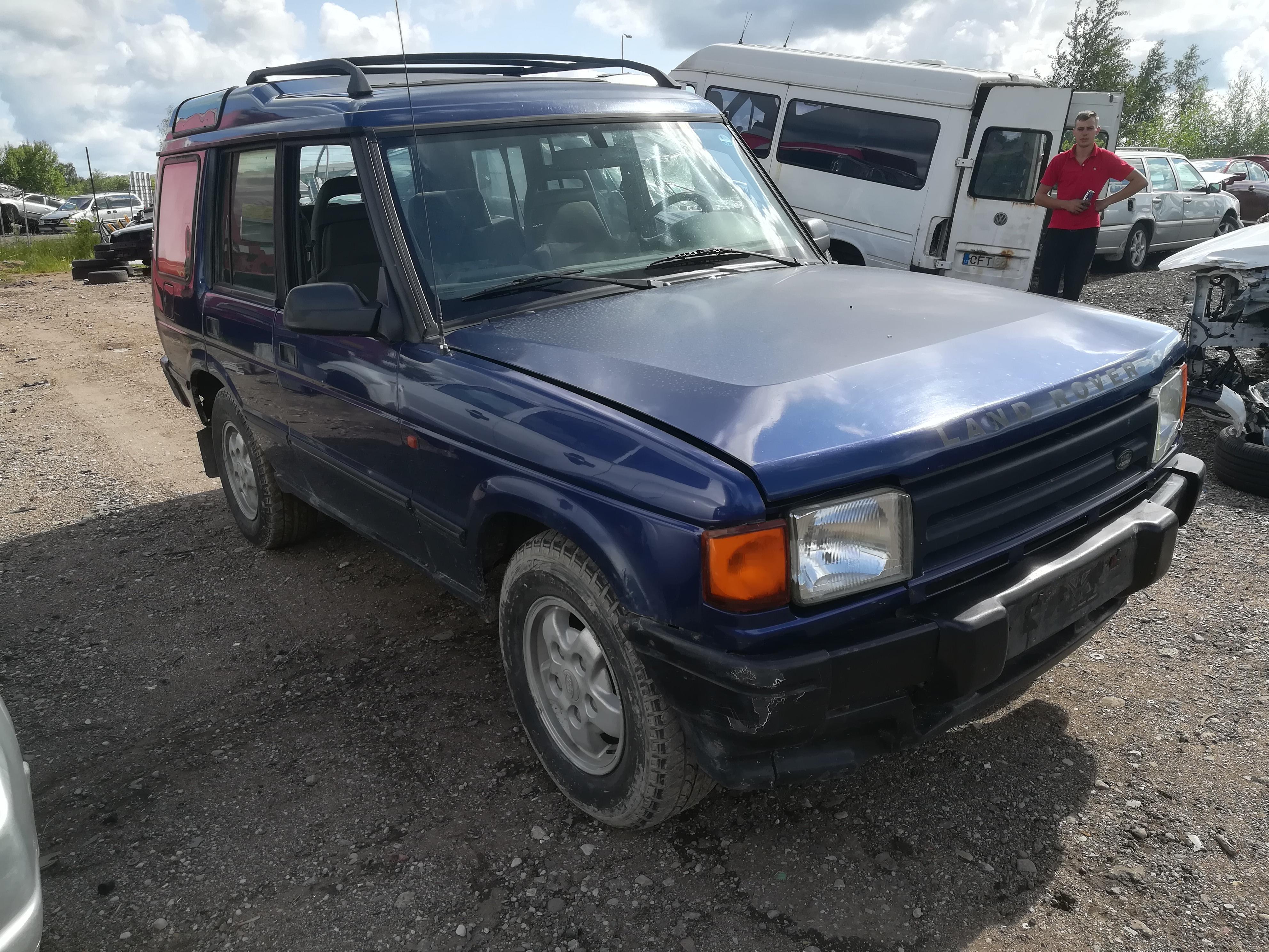 Naudotos automobiliu dallys Foto 3 Land-Rover DISCOVERY 1995 2.5 Mechaninė Visureigis 4/5 d. Melyna 2019-7-12 A4622