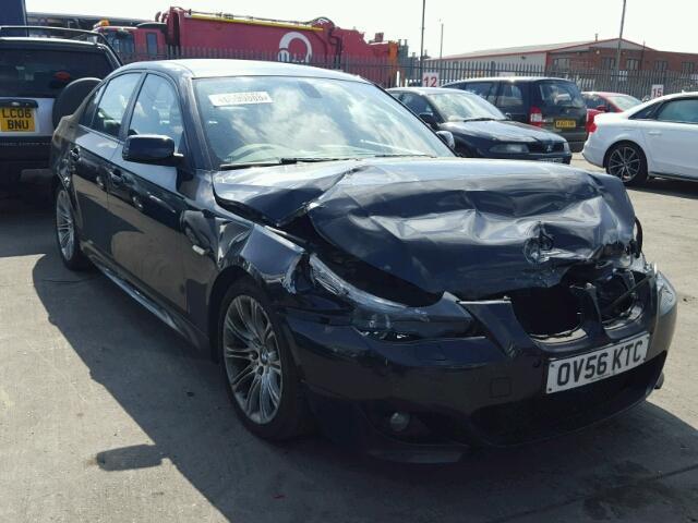 Naudotos automobiliu dallys Foto 2 BMW 5-SERIES 2006 3.0 Mechaninė Sedanas 4/5 d. Juoda 2018-8-12 A4037