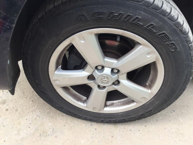 Naudotos automobiliu dallys Foto 5 Toyota RAV-4 2008 2.2 Mechaninė Visureigis 4/5 d. Melyna 2018-6-04 A3842