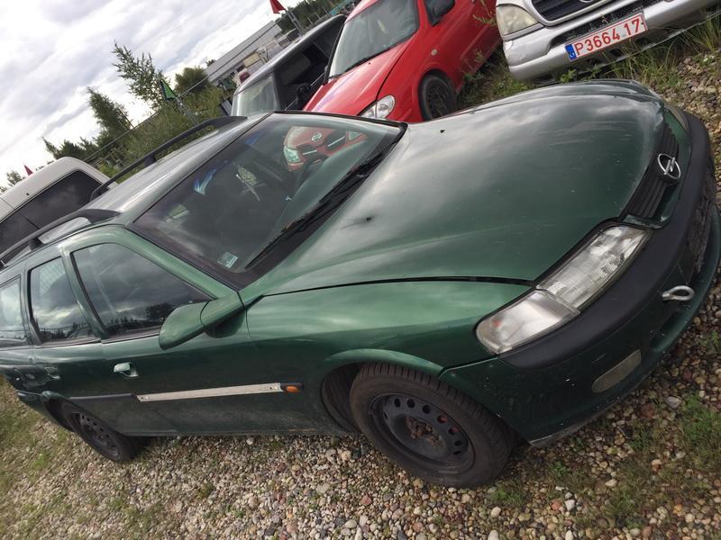 Naudotos automobilio dalys Opel VECTRA 1997 2.0 Mechaninė Universalas 4/5 d. Zalia 2018-8-11