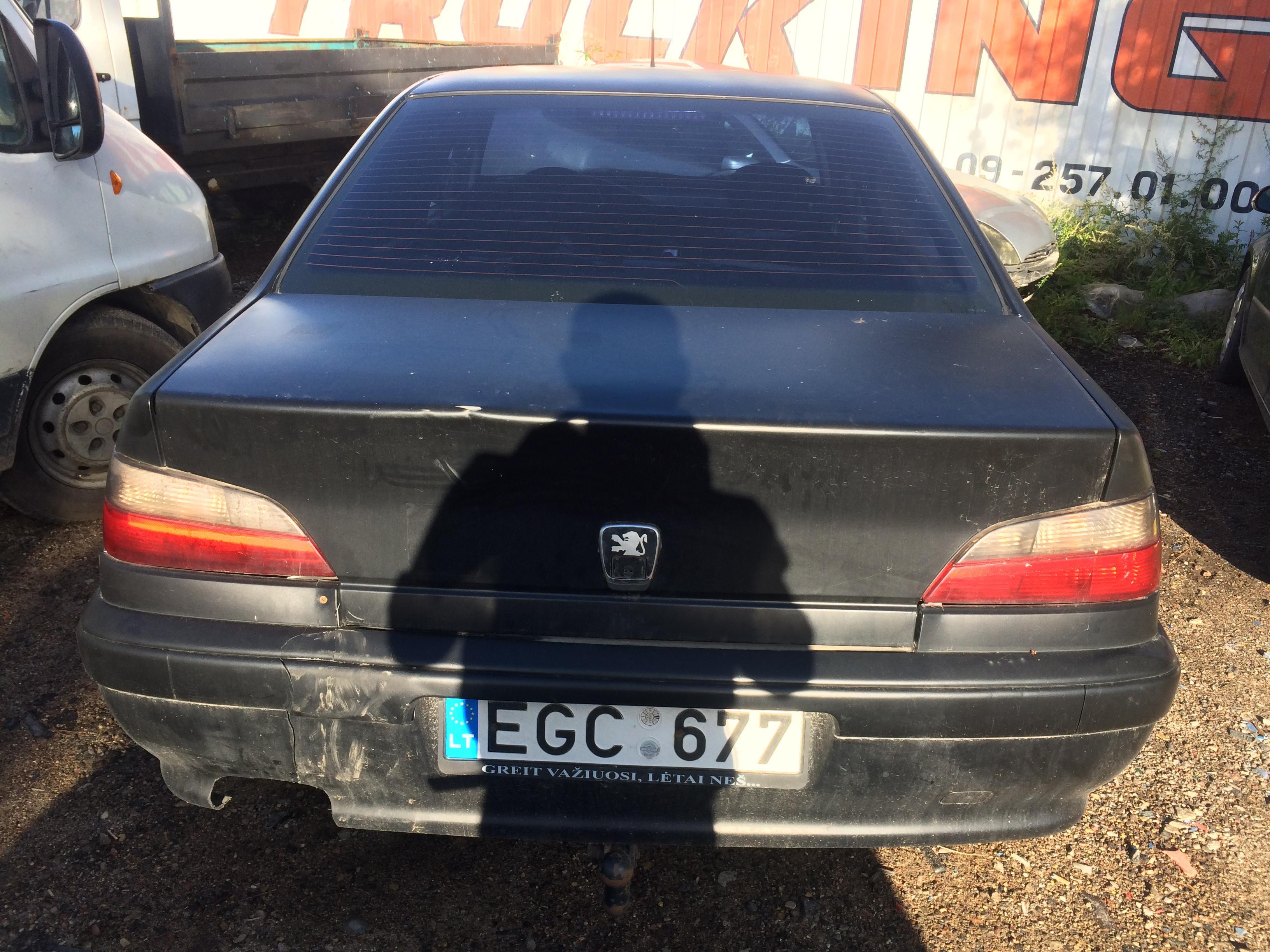 Naudotos automobiliu dallys Foto 8 Peugeot 406 1998 2.1 Mechaninė Sedanas 4/5 d. Juoda 2018-8-06 A4025