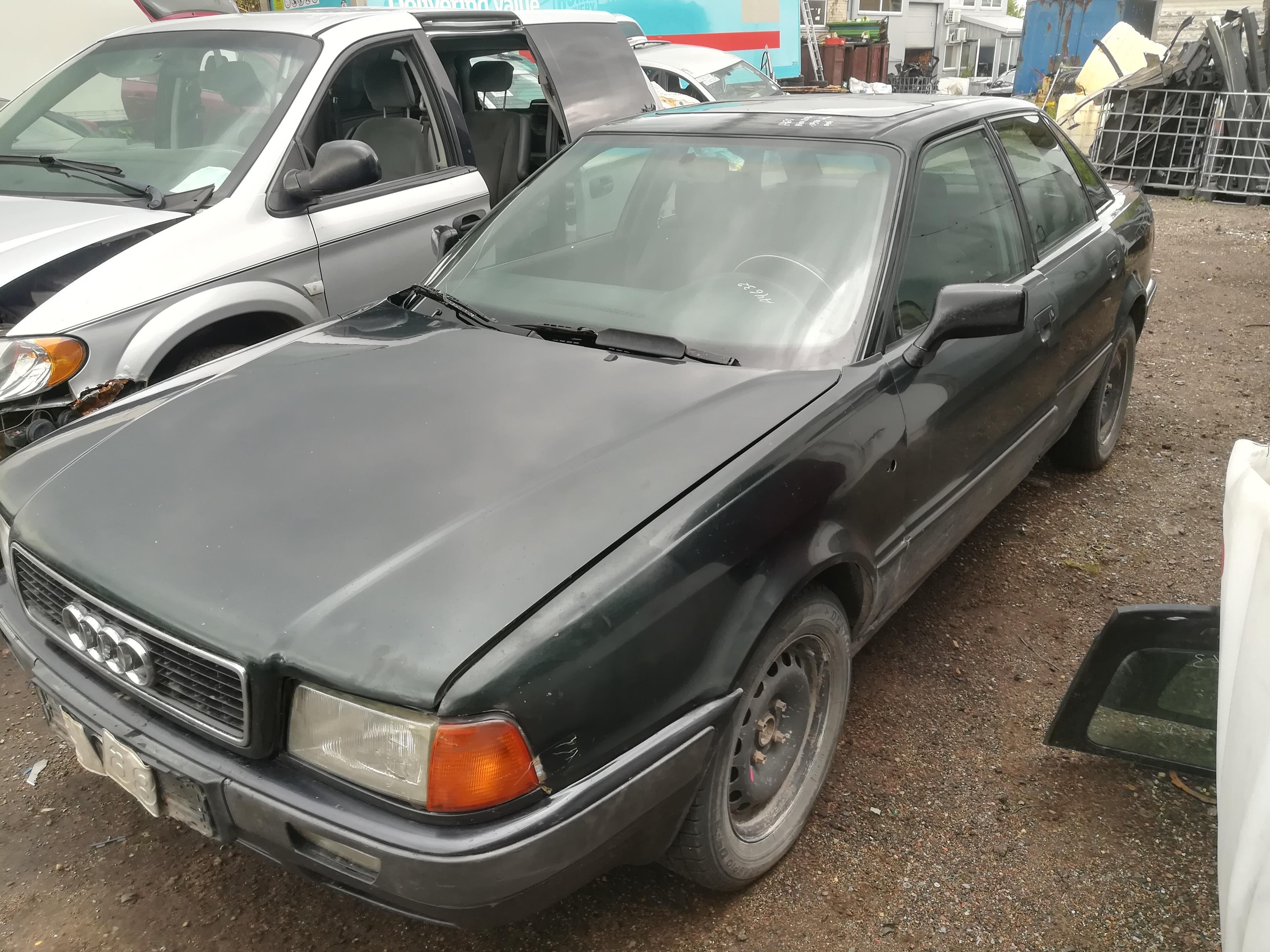 Naudotos automobiliu dallys Foto 4 Audi 80 1992 1.9 Mechaninė Sedanas 4/5 d. Zalia 2019-7-16 A4632
