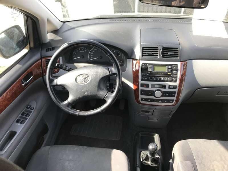 Naudotos automobiliu dallys Foto 5 Toyota AVENSIS VERSO 2004 2.0 Mechaninė Vienatūris 4/5 d. Sidabrine 2018-9-29 A4100