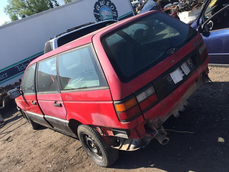 Naudotos automobilio dalys Volkswagen PASSAT 1993 1.8 Mechaninė Universalas 4/5 d. Raudona 2018-5-09