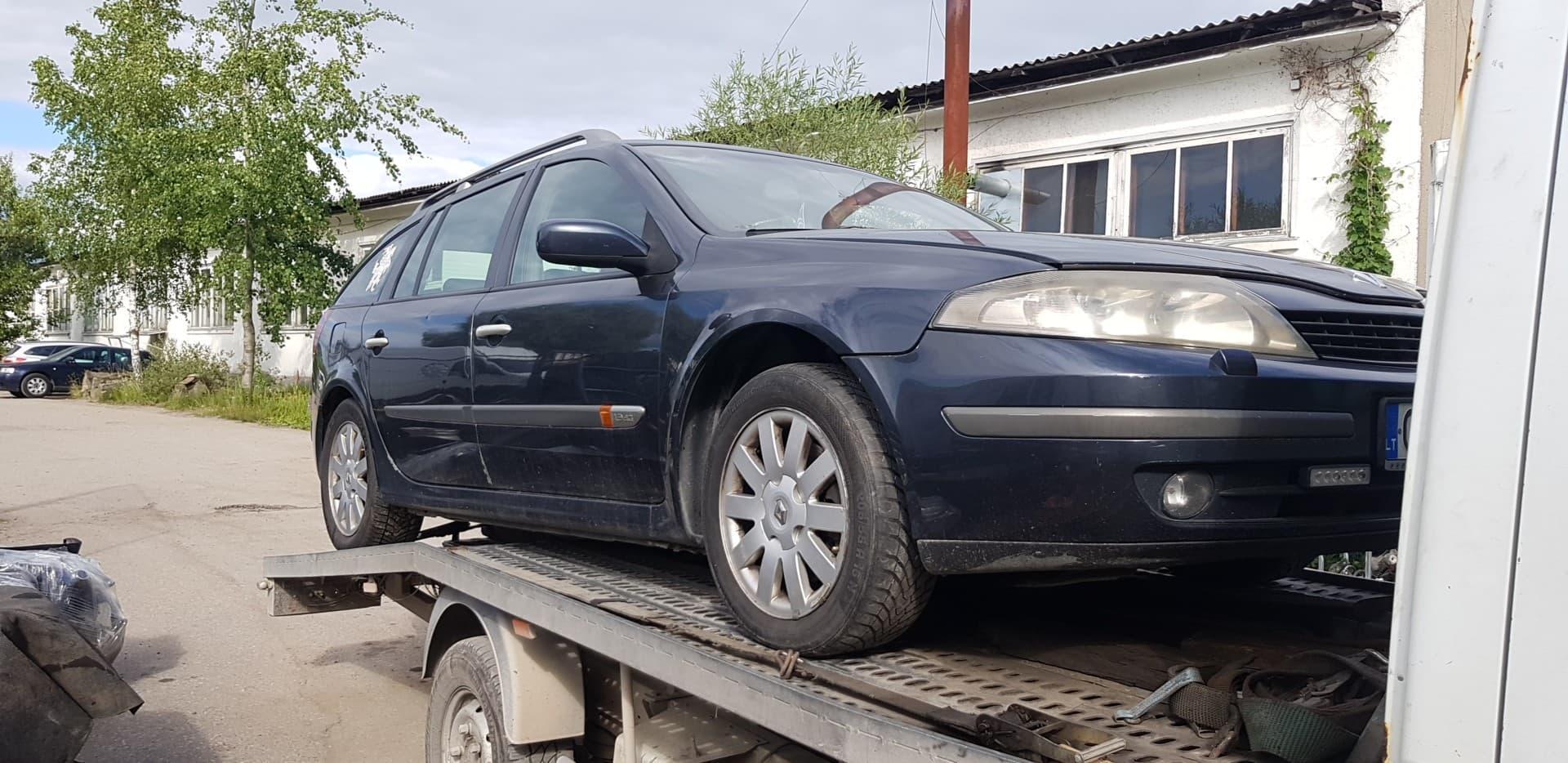 Used Car Parts Renault LAGUNA 2001 1.9 Mechanical Universal 4/5 d. Grey 2020-7-13