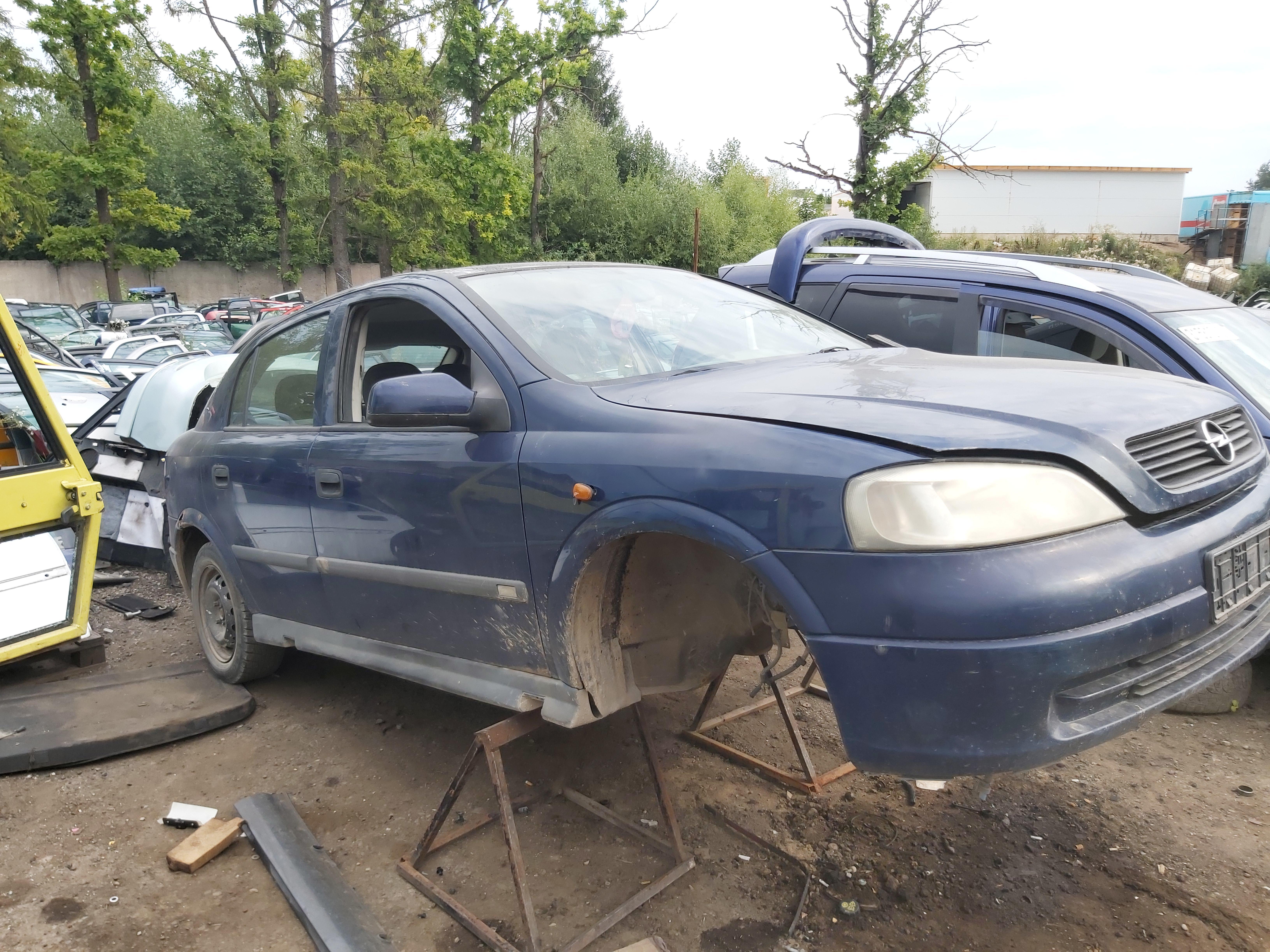 Naudotos automobilio dalys Opel ASTRA 1998 1.7 Mechaninė Hečbekas 4/5 d. Melyna 2020-8-18
