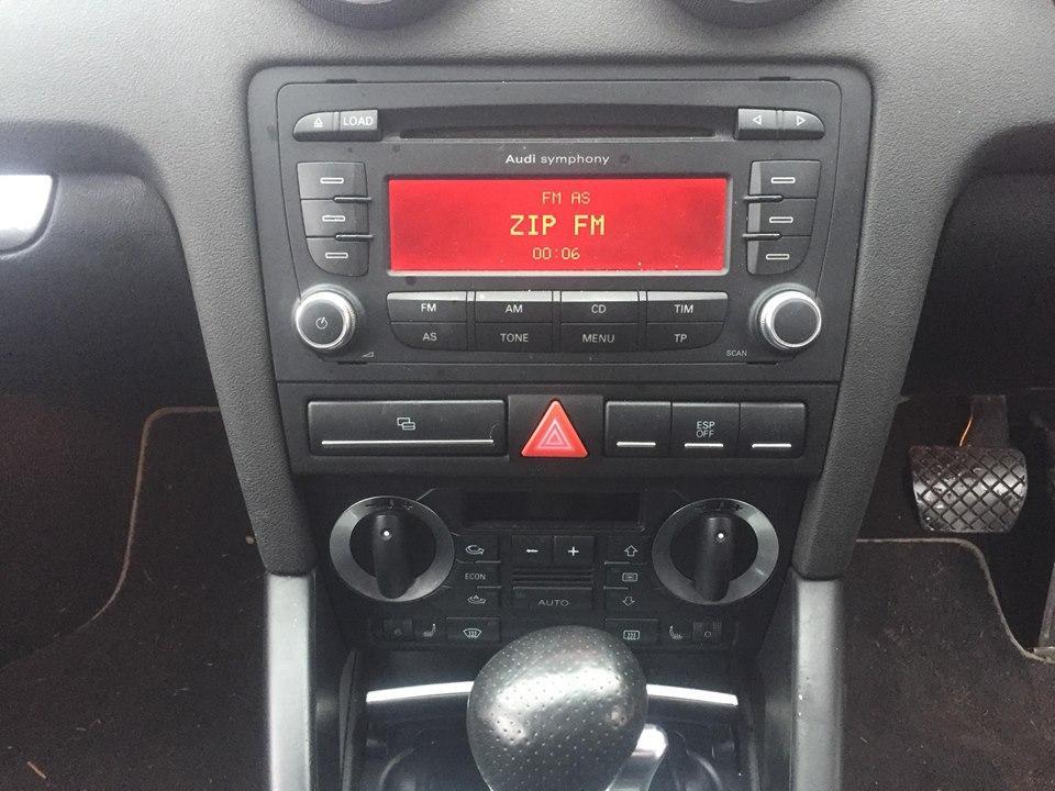 Naudotos automobiliu dallys Foto 9 Audi A3 2007 2.0 Automatinė Hečbekas  d. Raudona 2018-11-30 A4217
