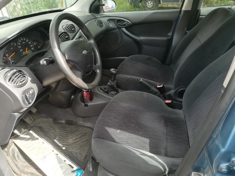 Naudotos automobiliu dallys Foto 3 Ford FOCUS 2000 1.4 Mechaninė Hečbekas 4/5 d. Melyna 2019-6-27 A4583