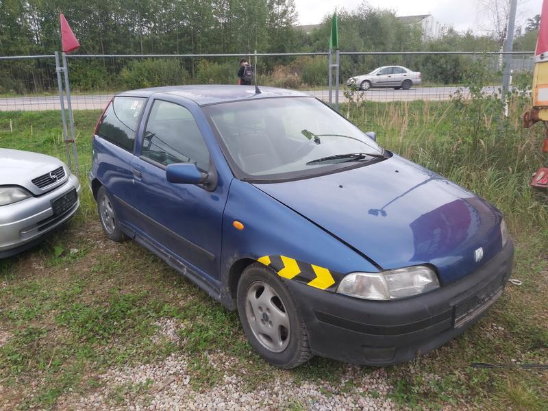 Naudotos automobilio dalys Fiat PUNTO 1999 1.2 Mechaninė Hečbekas 2/3 d. Melyna 2020-9-14