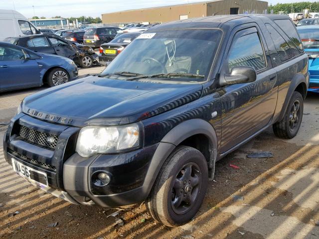 Naudotos automobilio dalys Land-Rover FREELANDER 2006 2.0 Mechaninė Visureigis 2/3 d. Juoda 2019-9-18