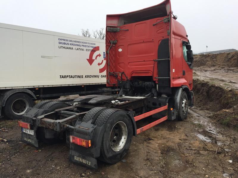Подержанные Автозапчасти Foto 7 Truck - Renault PREMIUM 2001 11.1 машиностроение Vilkikas 2/3 d. красный 2018-12-11 A4230