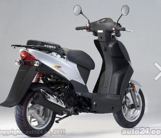 Naudotos automobilio dalys Motorcycles - Kymco AGILITY 2009 0.05 Automatinė Motociklas  d. Melyna 2017-6-01