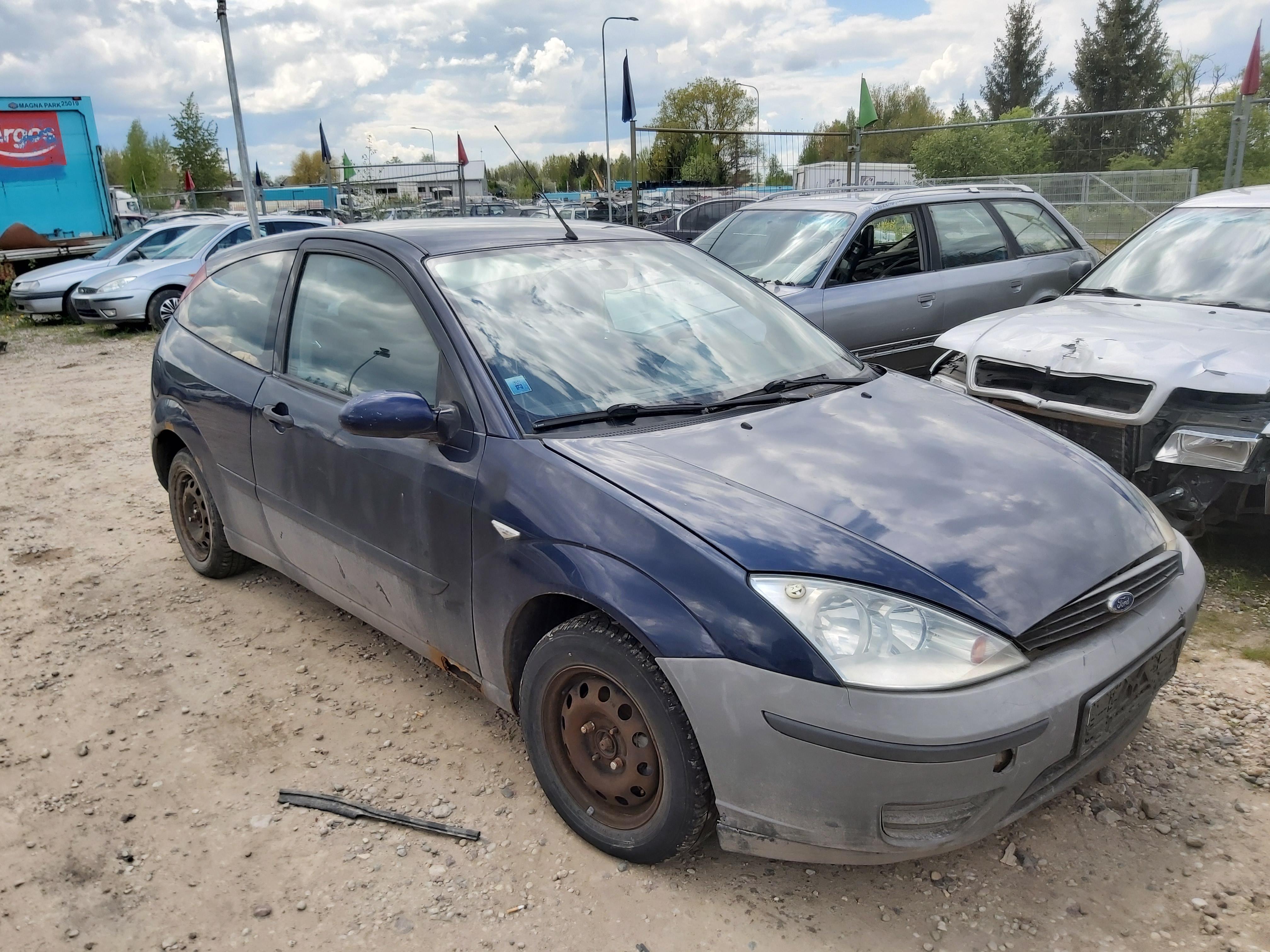 Naudotos automobilio dalys Ford FOCUS 1999 1.8 Mechaninė Hečbekas 2/3 d. Melyna 2020-5-26