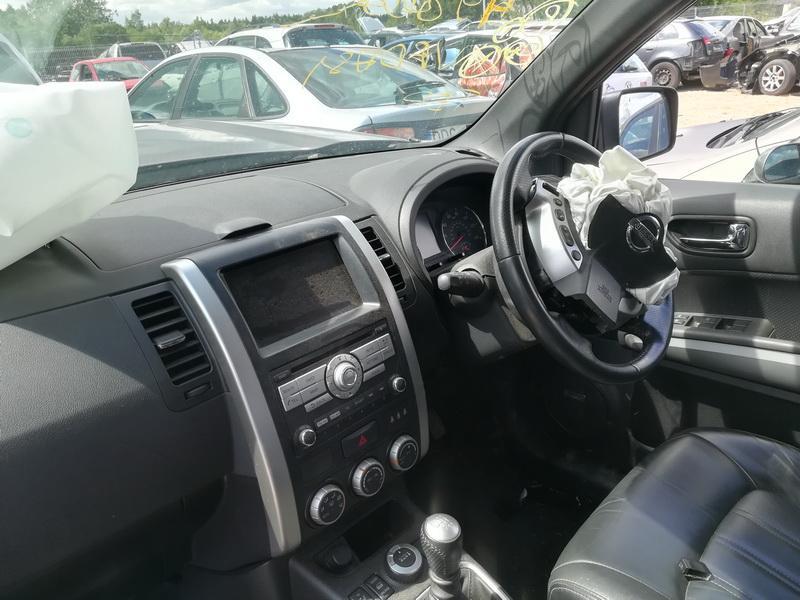 Naudotos automobilio dalys Nissan X-TRAIL 2010 2.0 Mechaninė Visureigis 4/5 d. Violetine 2019-7-02