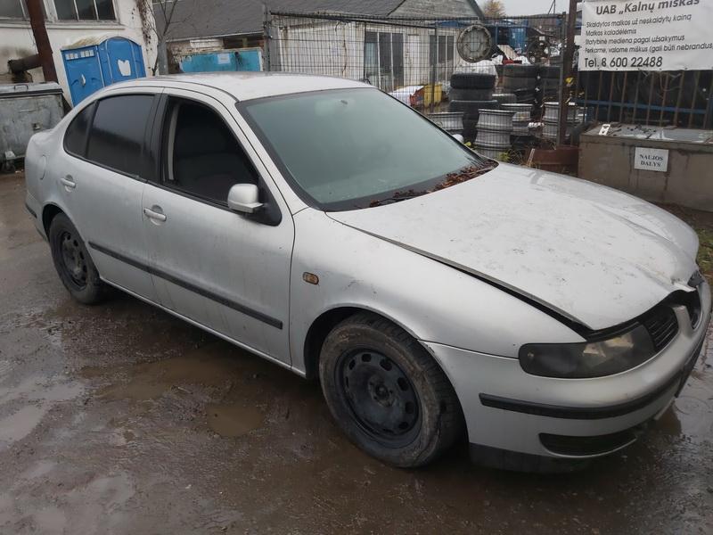 Naudotos automobilio dalys Seat TOLEDO 2000 1.9 Mechaninė Sedanas 4/5 d. Sidabrine 2020-11-04