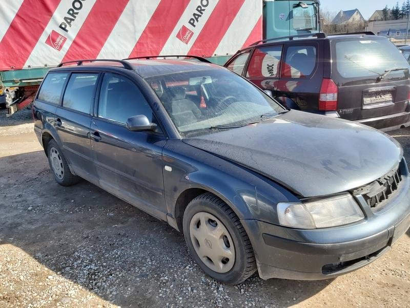 Naudotos automobilio dalys Volkswagen PASSAT 1999 1.6 Mechaninė Universalas 4/5 d. Pilka 2020-3-26