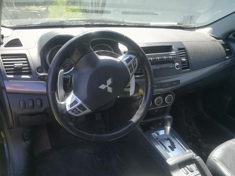 Naudotos automobilio dalys Mitsubishi LANCER 2008 1.8 Automatinė Hečbekas 4/5 d. Juoda 2019-6-03