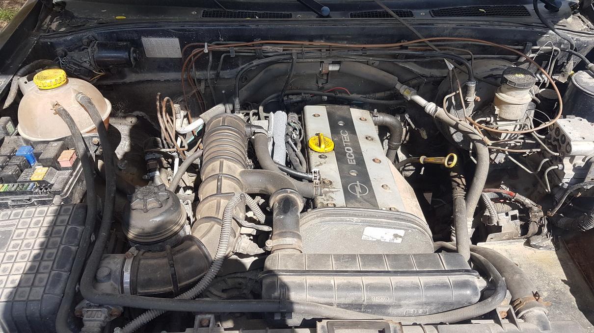 Naudotos automobiliu dallys Foto 8 Opel FRONTERA 1997 2.2 Mechaninė Visureigis 4/5 d. Melyna 2017-5-09 A3278