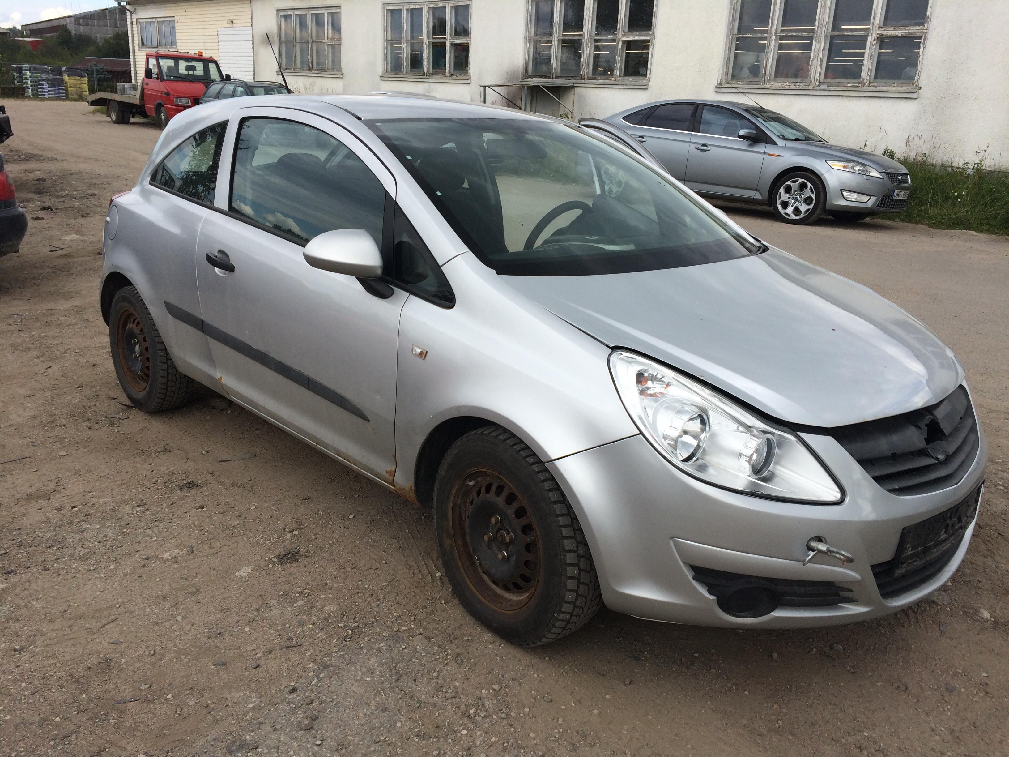 Подержанные Автозапчасти Foto 4 Opel CORSA 2008 1.3 машиностроение хэтчбэк 2/3 d. Серый 2018-7-11 A3933