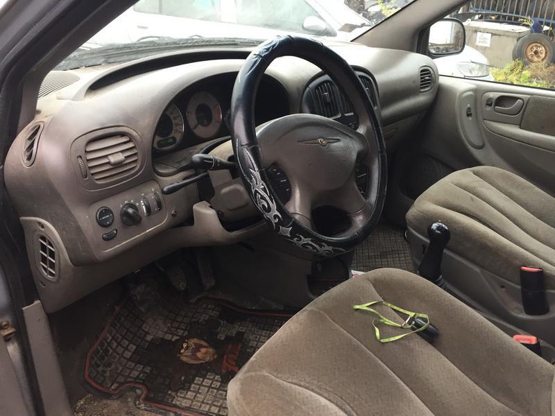 Naudotos automobilio dalys Chrysler VOYAGER 2001 2.5 Mechaninė Vienatūris 4/5 d. Pilka 2018-10-30