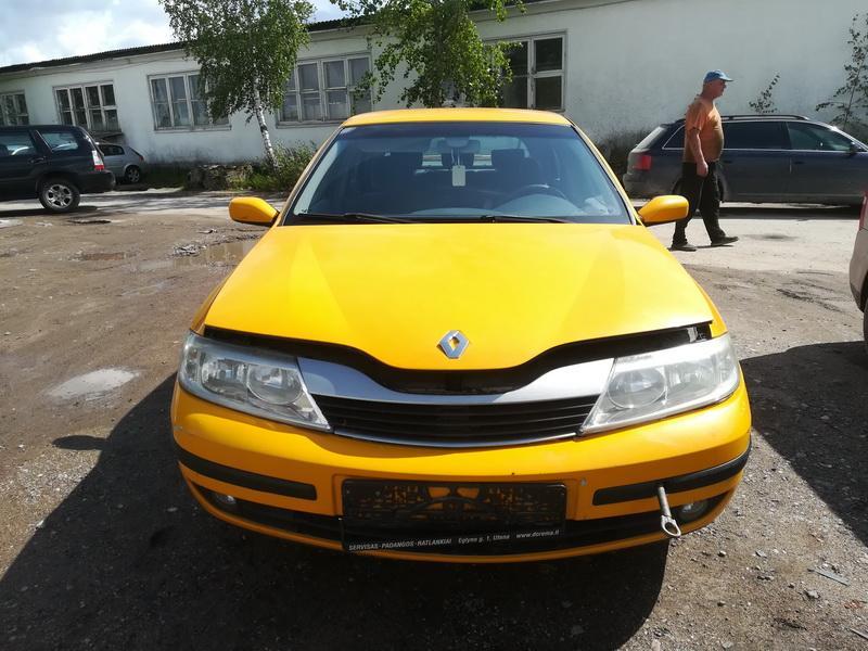 Naudotos automobilio dalys Renault LAGUNA 2002 1.8 Mechaninė Hečbekas 4/5 d. Geltona 2019-8-08