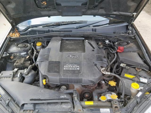 Naudotos automobiliu dallys Foto 5 Subaru LEGACY 2009 2.0 Mechaninė Universalas 4/5 d. Juoda 2019-4-03 A4402