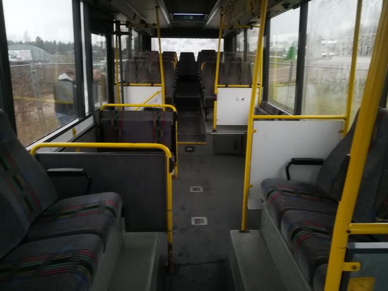 Naudotos automobiliu dallys Foto 11 Bus - Volvo B6 1993 5.5 Automatinė Kita 2/3 d. Balta 2019-11-28 A4933