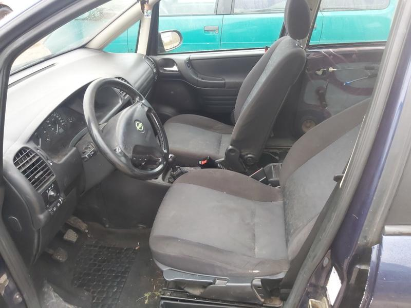 Naudotos automobiliu dallys Foto 5 Opel ZAFIRA 2000 2.0 Mechaninė Vienatūris 4/5 d. Melyna 2020-11-18 A5831