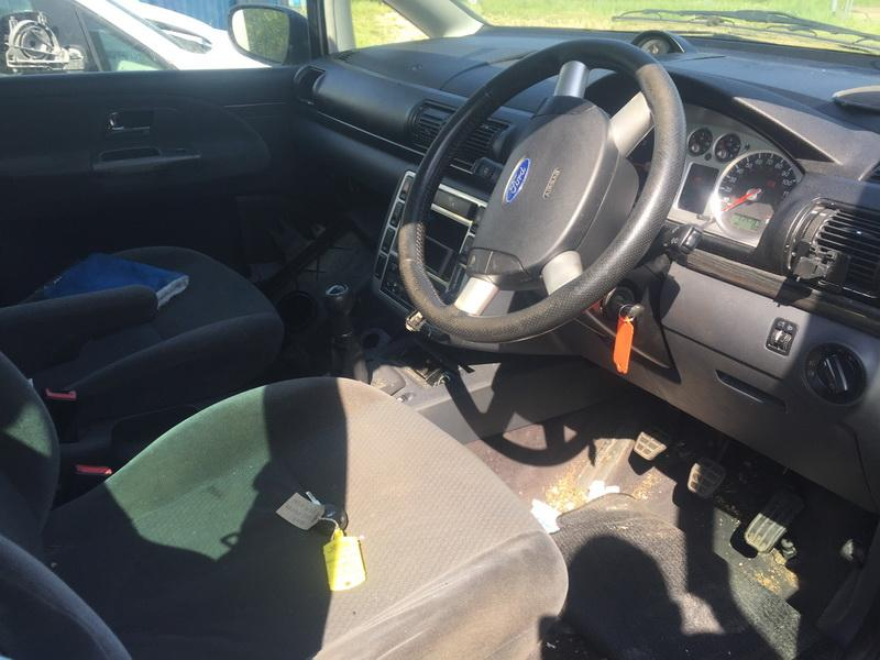 Naudotos automobilio dalys Ford GALAXY 2001 1.9 Mechaninė Vienatūris 4/5 d. Juoda 2018-5-16