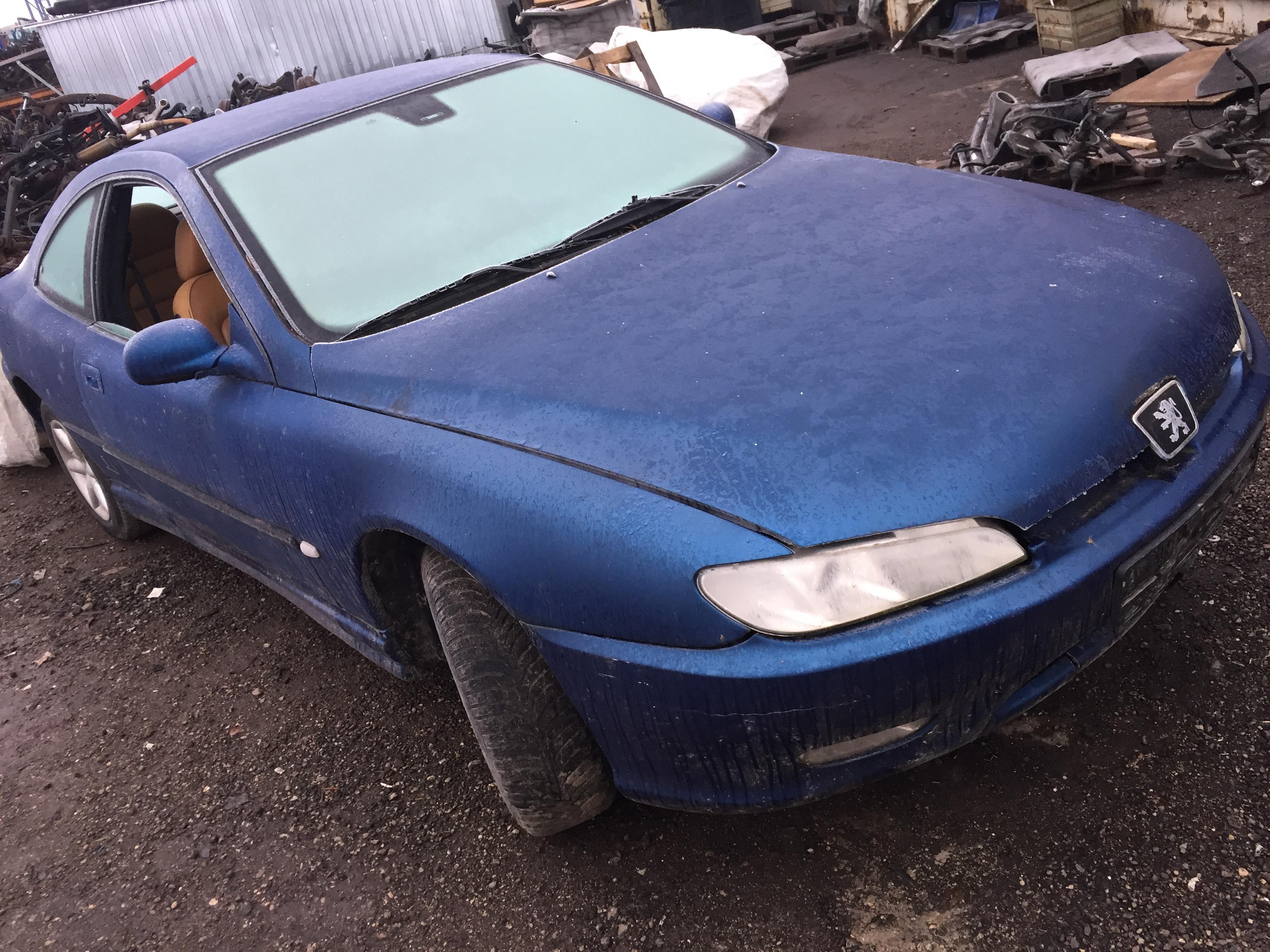 Naudotos automobilio dalys Peugeot 406 1999 3.0 Mechaninė Kupė 2/3 d. Melyna 2017-11-21