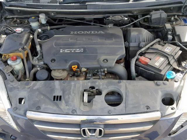 Naudotos automobiliu dallys Foto 9 Honda FR-V 2008 2.2 Mechaninė Vienatūris 4/5 d. Melyna 2019-9-18 A4767